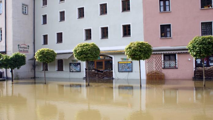 Hochwasser in Passau