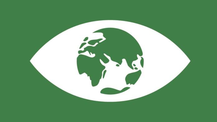 Welt als Iris des Auges