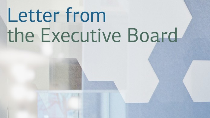 Teaser Brief des Vorstands/Letter from the Executive Board