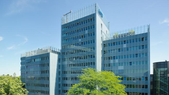 Außenansicht KfW Gebäude in Frankfurt/Main