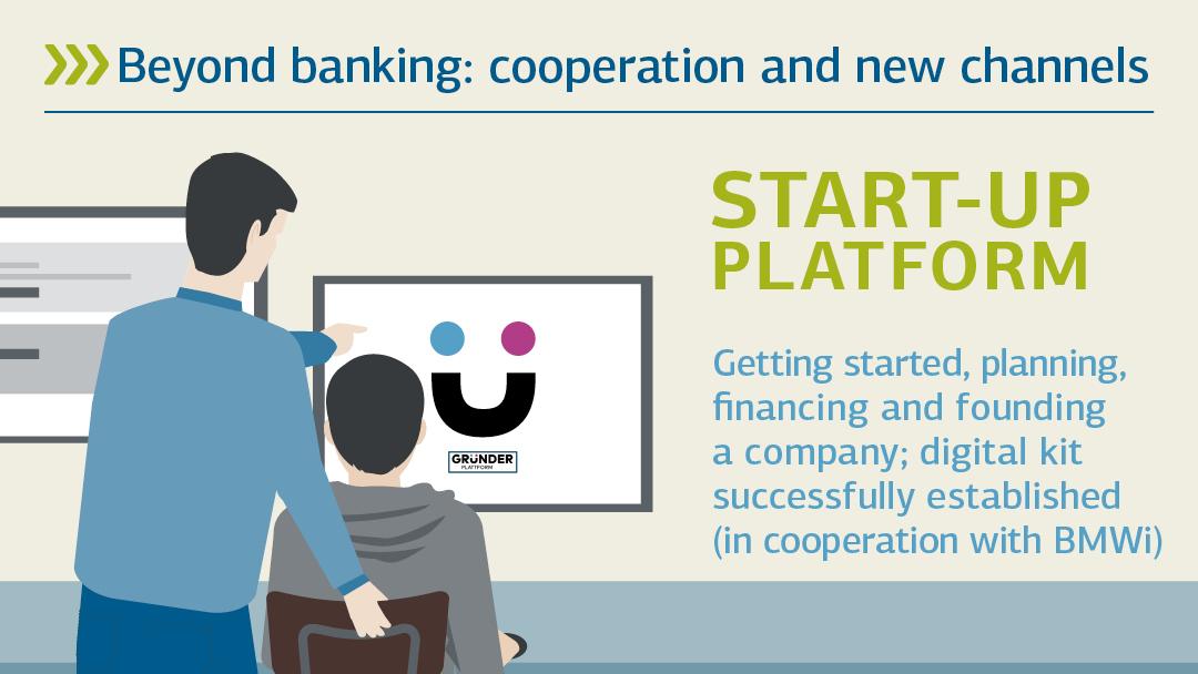 Illustration zu Gründer Plattform: Beyond Banking: Koorperation und neue Kanäle