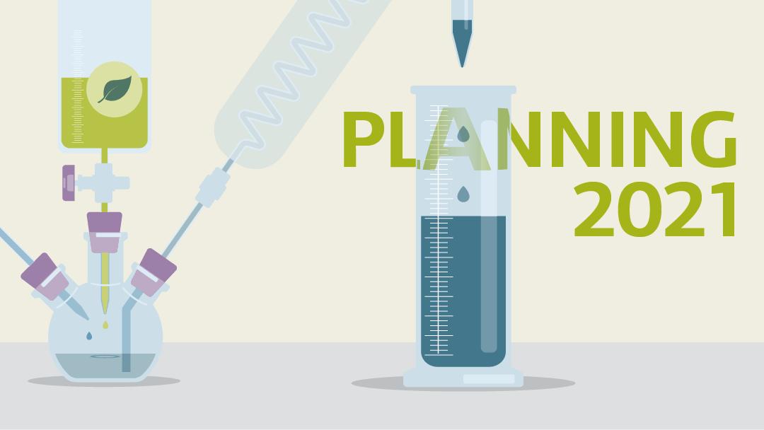 Illustration regarding the planning 2021