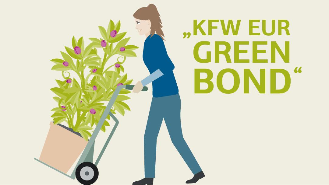 Illustration zum Thema KfW EUR Green Bond