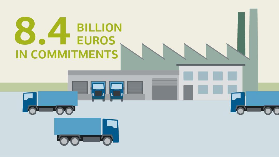 Illustration zum Thema Arbeitsplätze in der Krise sichern