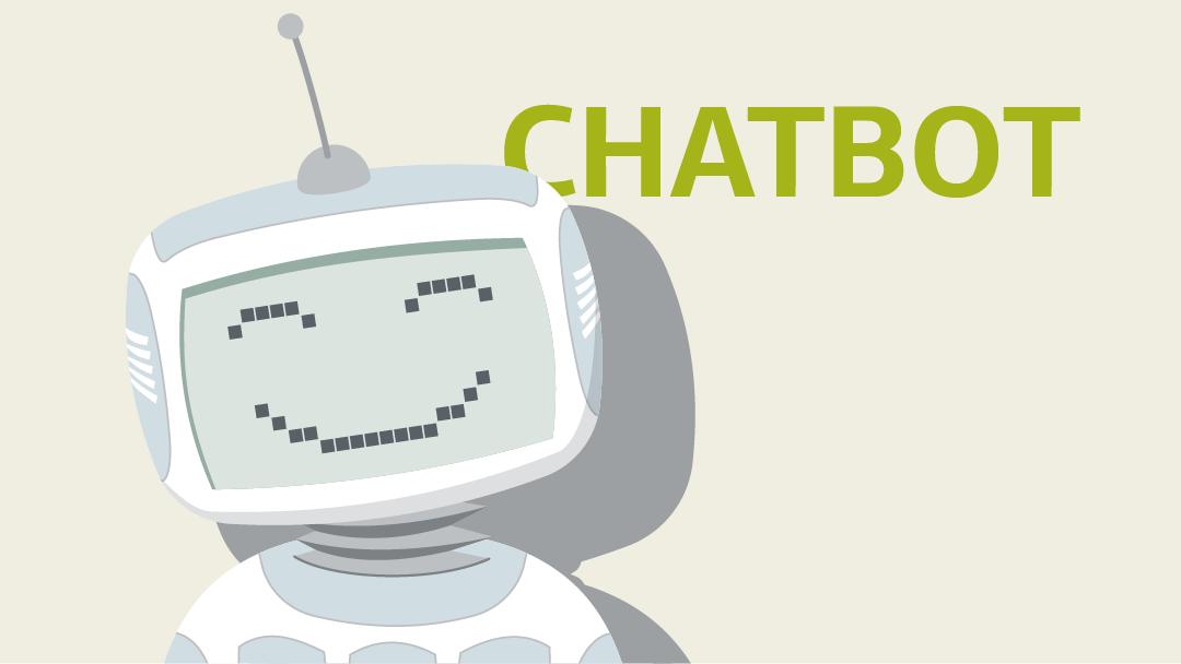 Illustration zum Thema Chatbot