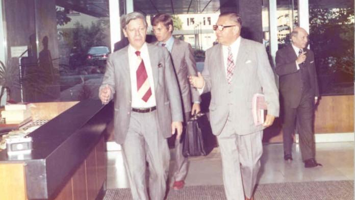 Helmut Schmidt (Federal Chancellor 1974-1982)