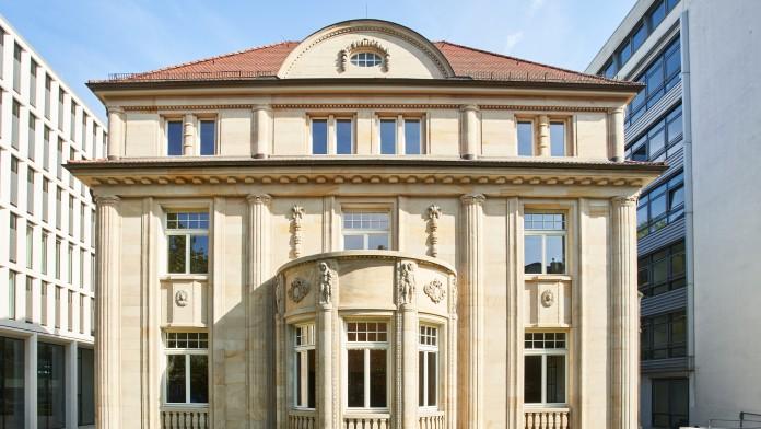 Villa of KfW at Bockenheimer Landstraße 102, Frankfurt