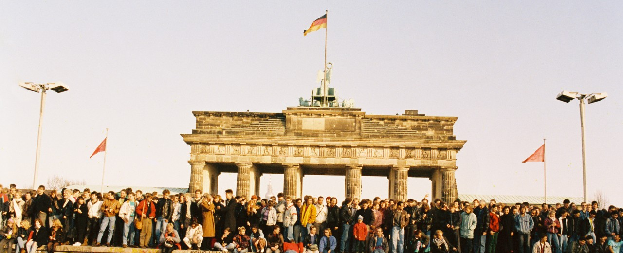 The fall of the Berlin Wall 1989
