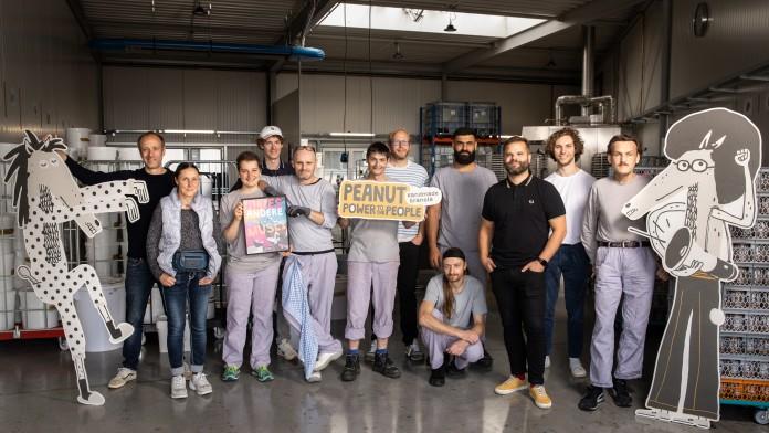 Das Team der Biomüsli-Manufaktur HEYHO! aus Lüneburg