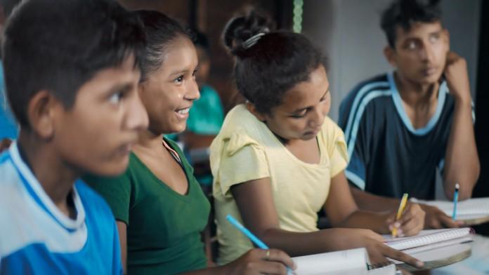 Förderung von Schülern in Entwicklungsländern