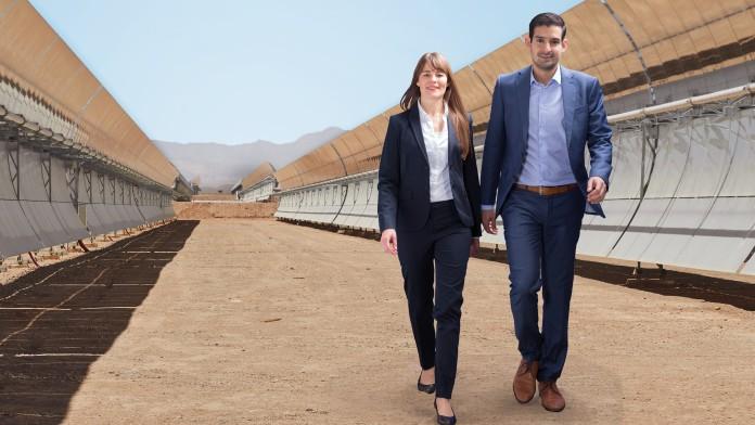solarpark marokko international förderung solar regenerative energie strom
