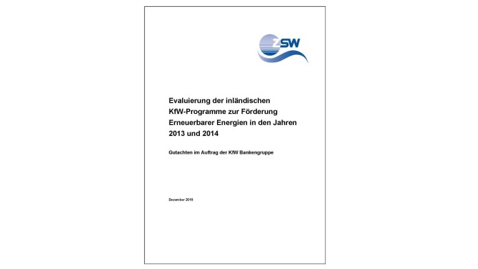 Deckblatt Evaluationen