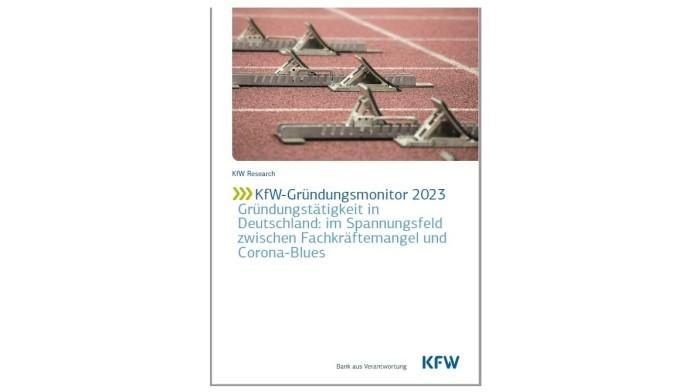 Deckblatt KfW-Gründungsmonitor