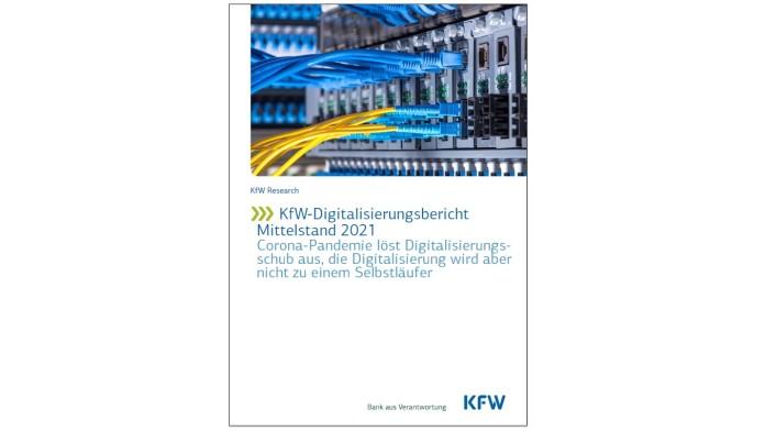 Deckblatt KfW-Digitalisierungsbericht Mittelstand