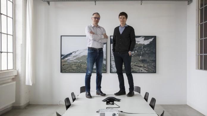 Die Gründer der Rhebo GmbH