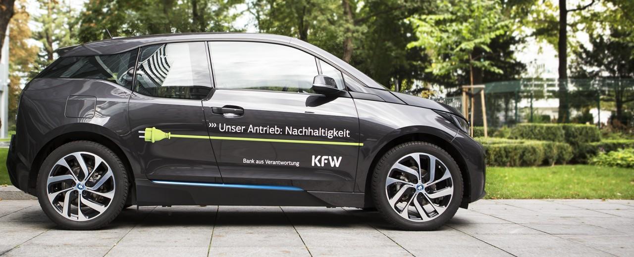 Elektromobilität bei der KfW