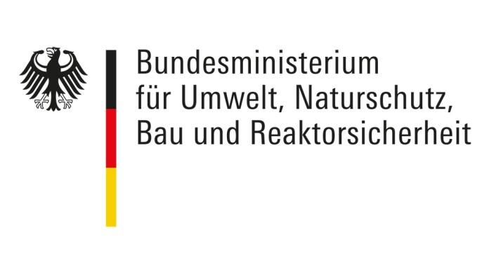 Logo des Bundesministerium für Umwelt, Naturschutz, Bau und Reaktorsicherheit