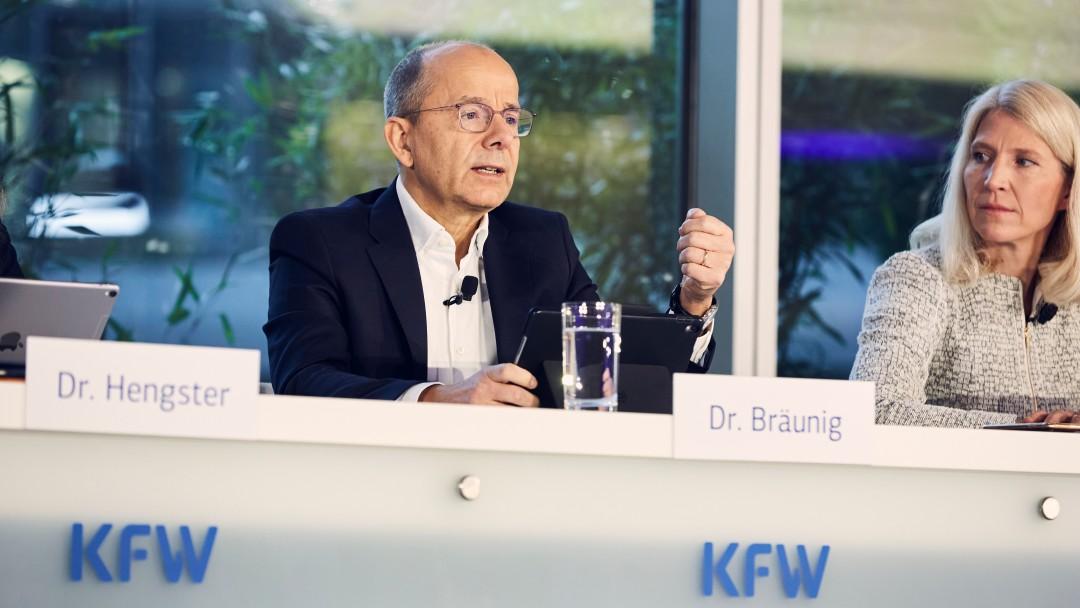 Dr. Günther Bräunig während der Jahresauftaktpressekonferenz 2020