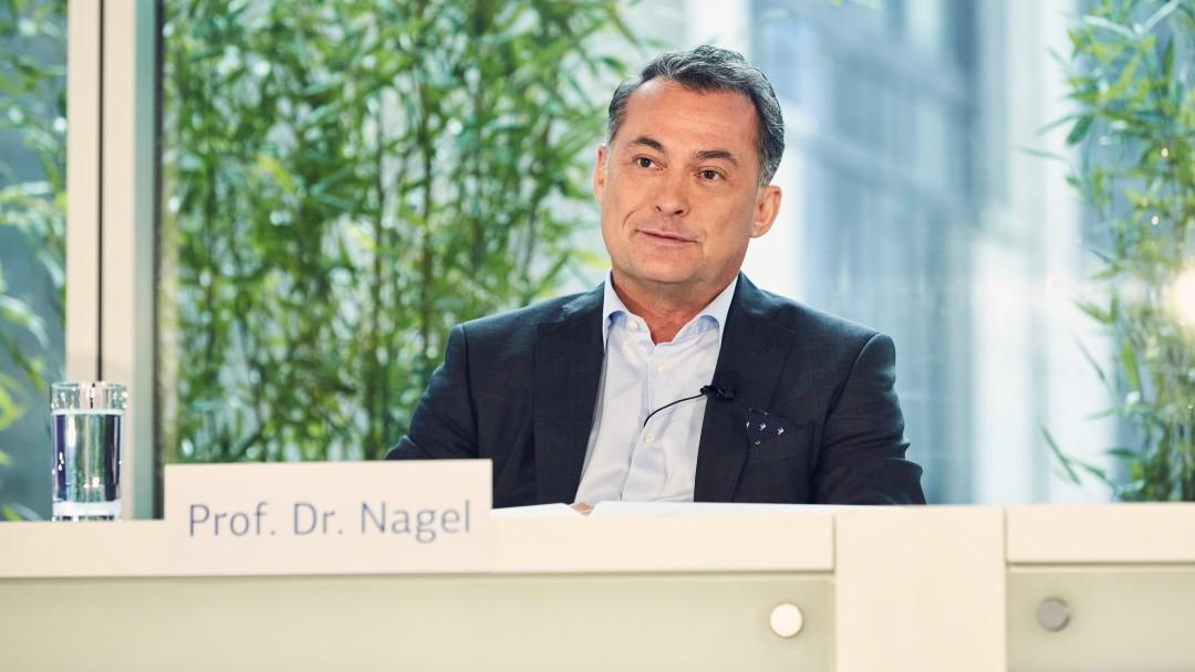 Prof. Dr. Joachim Nagel während der Jahresauftaktpressekonferenz 2020