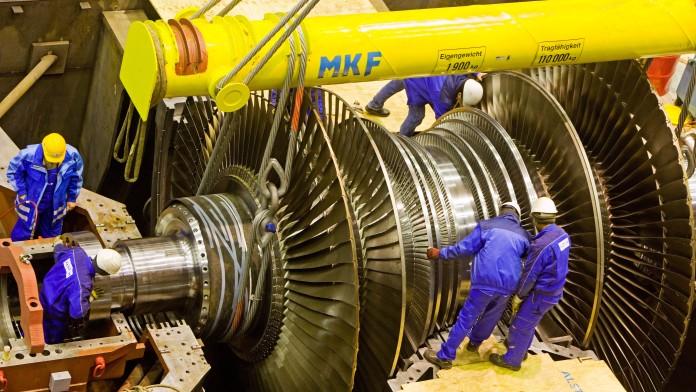 Energie, Industrie, Mann, Maschine, Maschinenbau, Mensch, Metall, Metallgewerbe, Produktion, Produzierendes Gewerbe, Technologie, Werkstatt, Kohlekraftwerk