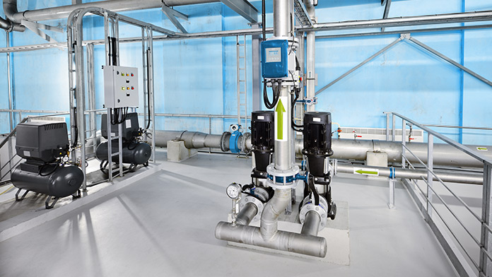 Reverse osmosis industrial city water treatment plant pumping station