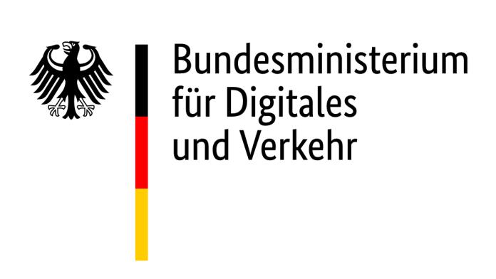 Logo: Bundesministerium für Verkehr und digitale Infrastruktur