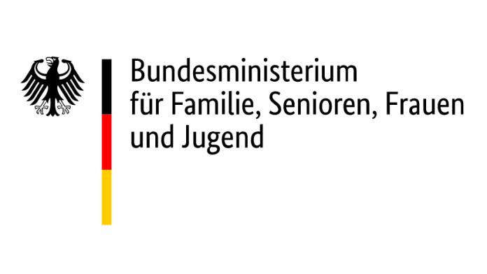 Logo: Bundesministerium für Familie, Senioren, Frauen und Jugend (BMFSFJ)