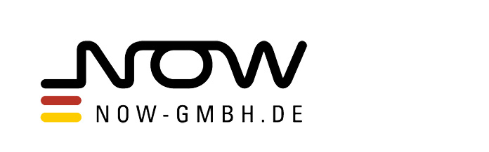 Logo: Nationale Organisation Wasserstoff- und Brennstoffzellentechnologie