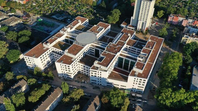 Klinikum Frankfurt-Höchst - Ansicht von oben