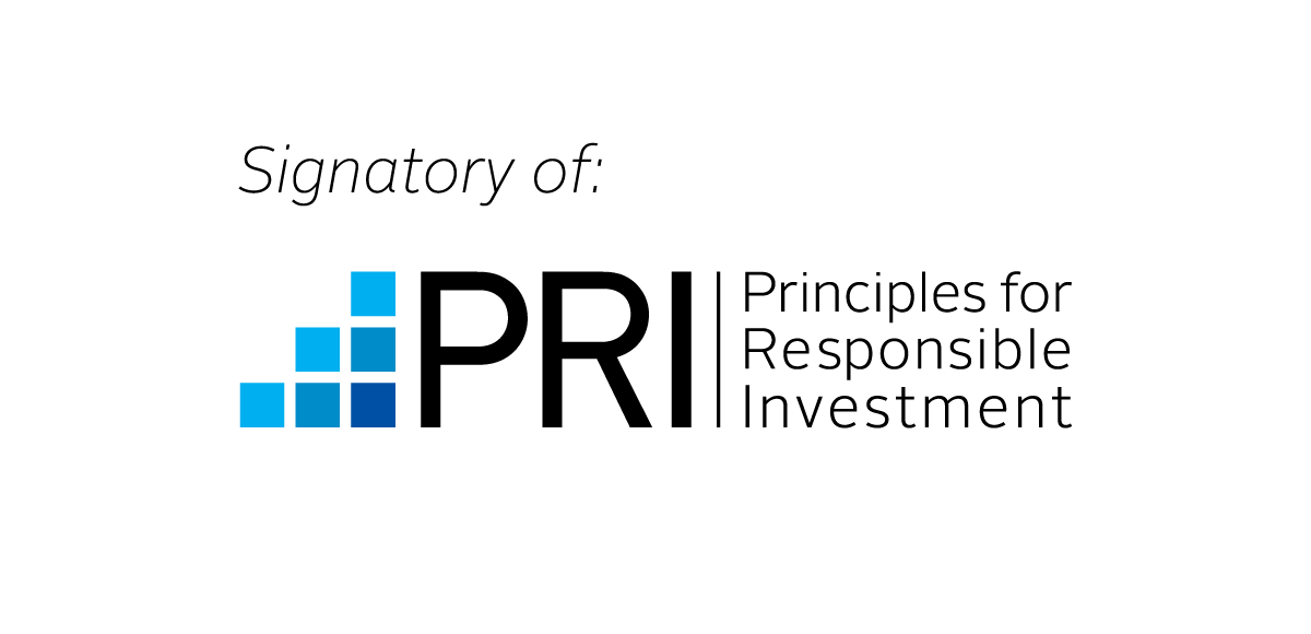 Logo PRI - Principles for Responsible Investment