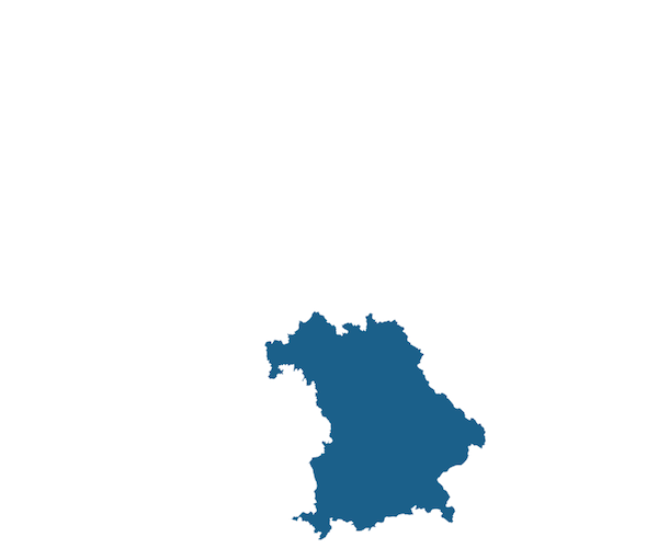 Map of Bavaria