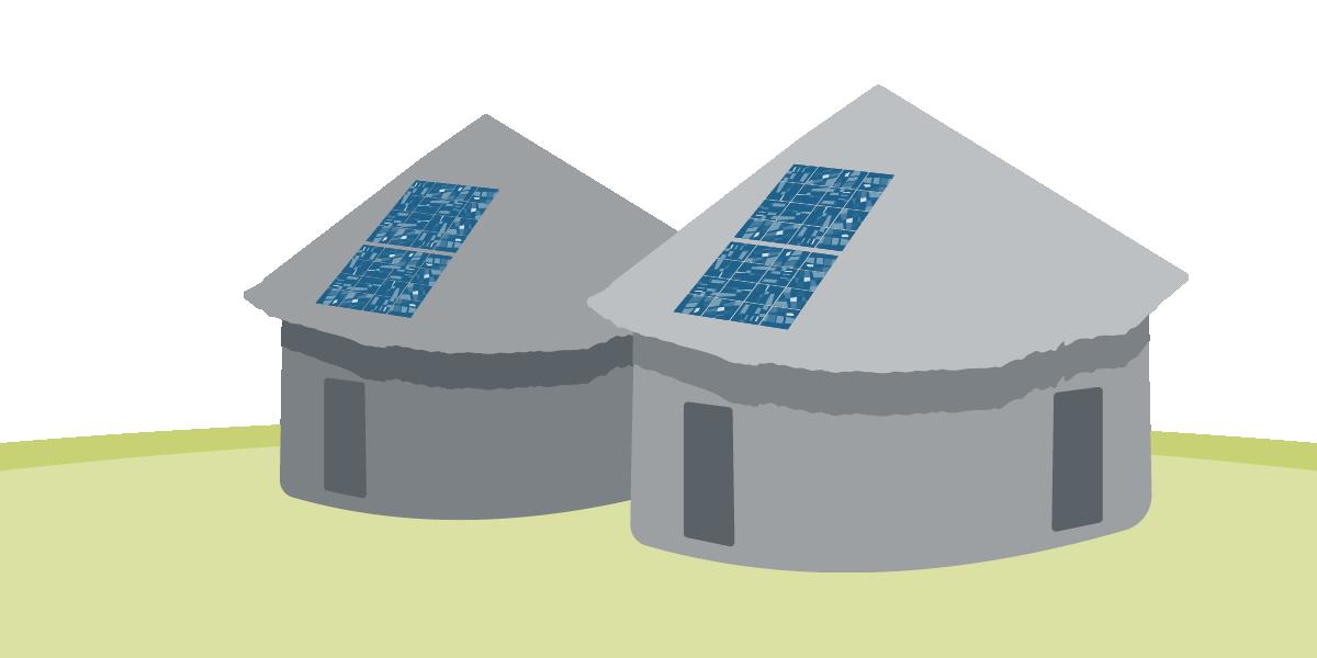 Grafische Darstellung Häuser