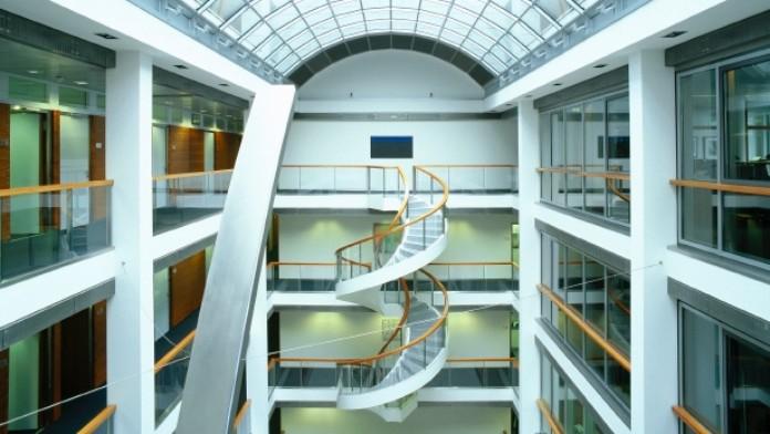 Architketur, Bank, Frankfurt, Gebäude
