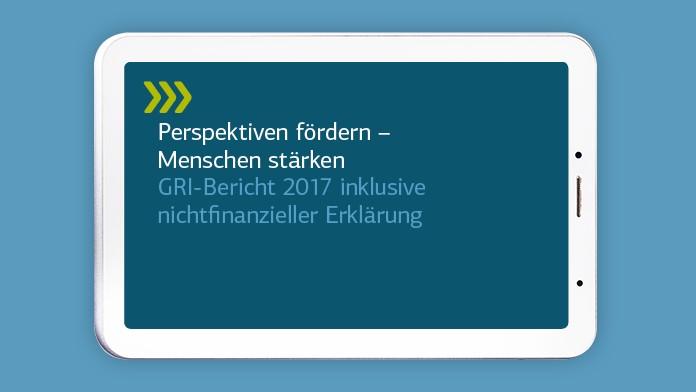 Titelbild GRI-Bericht 2017