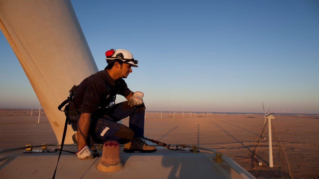 Technology in demand: emerging and developing countries are backing German wind energy too.