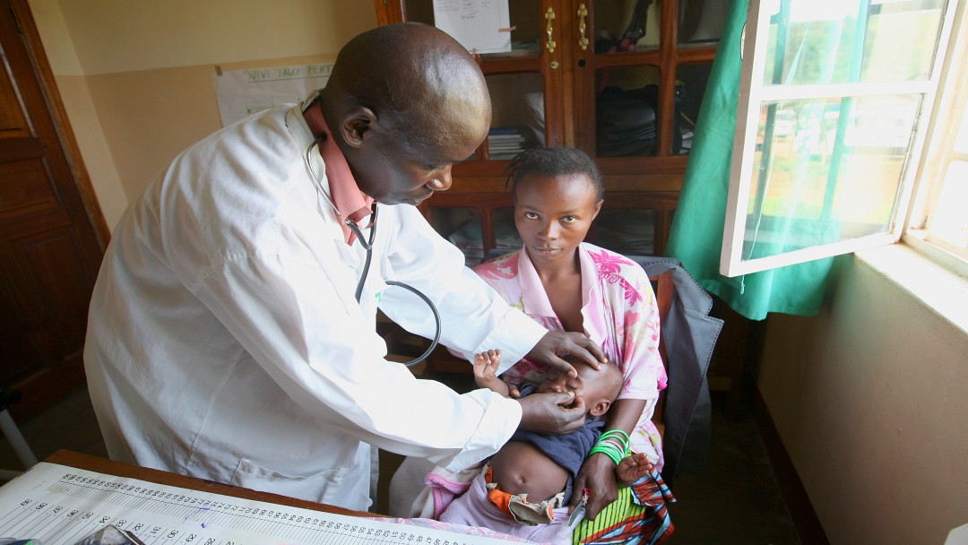 Acknowledged development objective: mothers and children around the world require good healthcare.