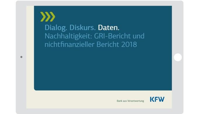 Titel GRI-Bericht 2018