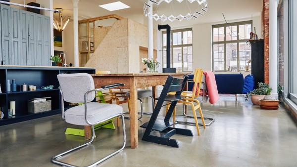 best lofts in leipzig pictures. Black Bedroom Furniture Sets. Home Design Ideas