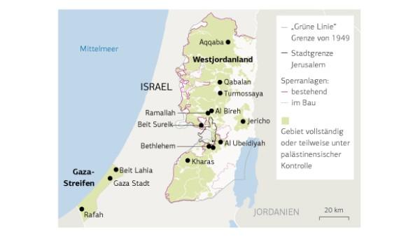 Israel Jerusalem Karte.Evaluation In The West Bank And Gaza Kfw Stories